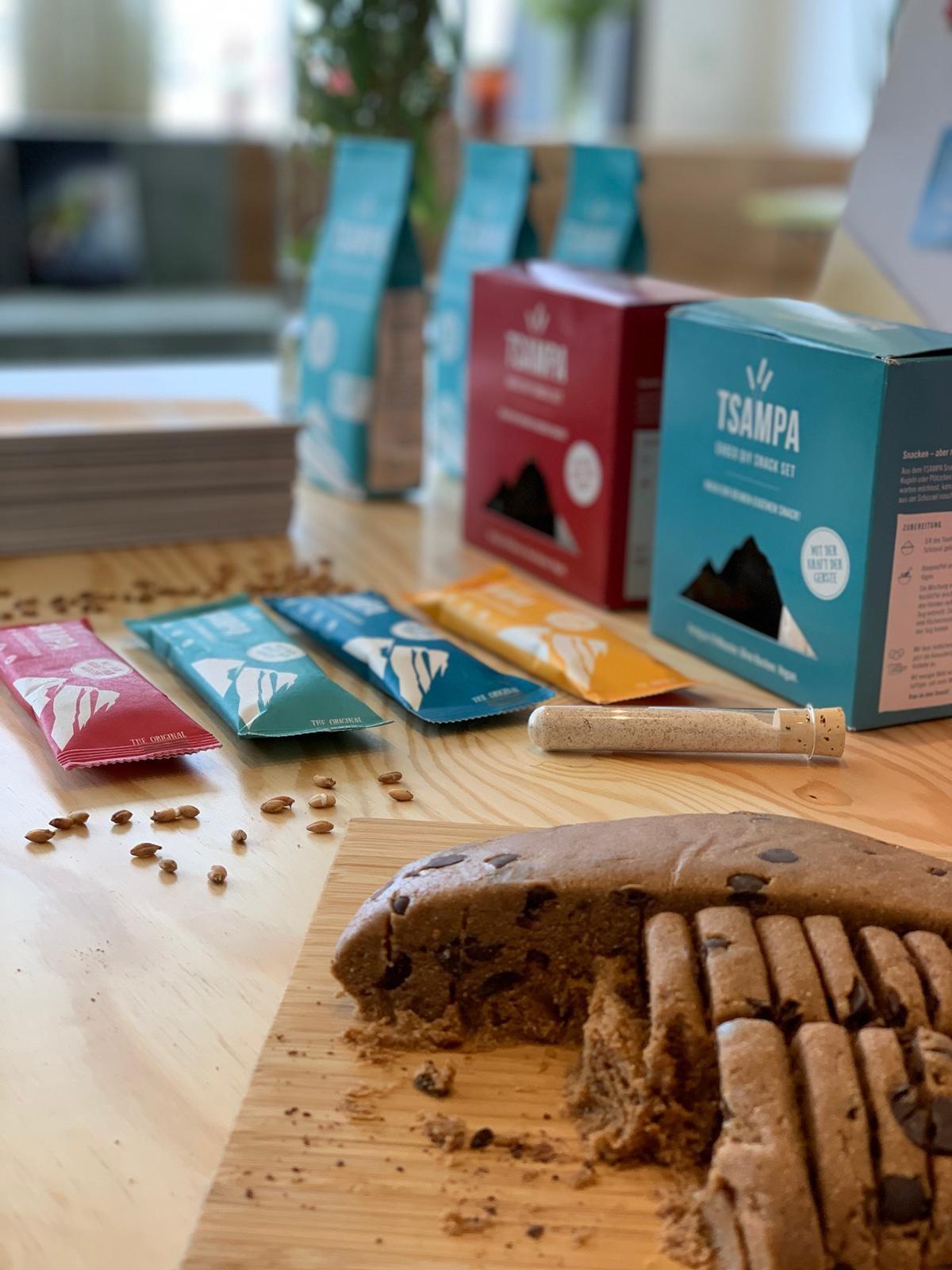 Gesunder Snack: Bio-Riegel Tsampa