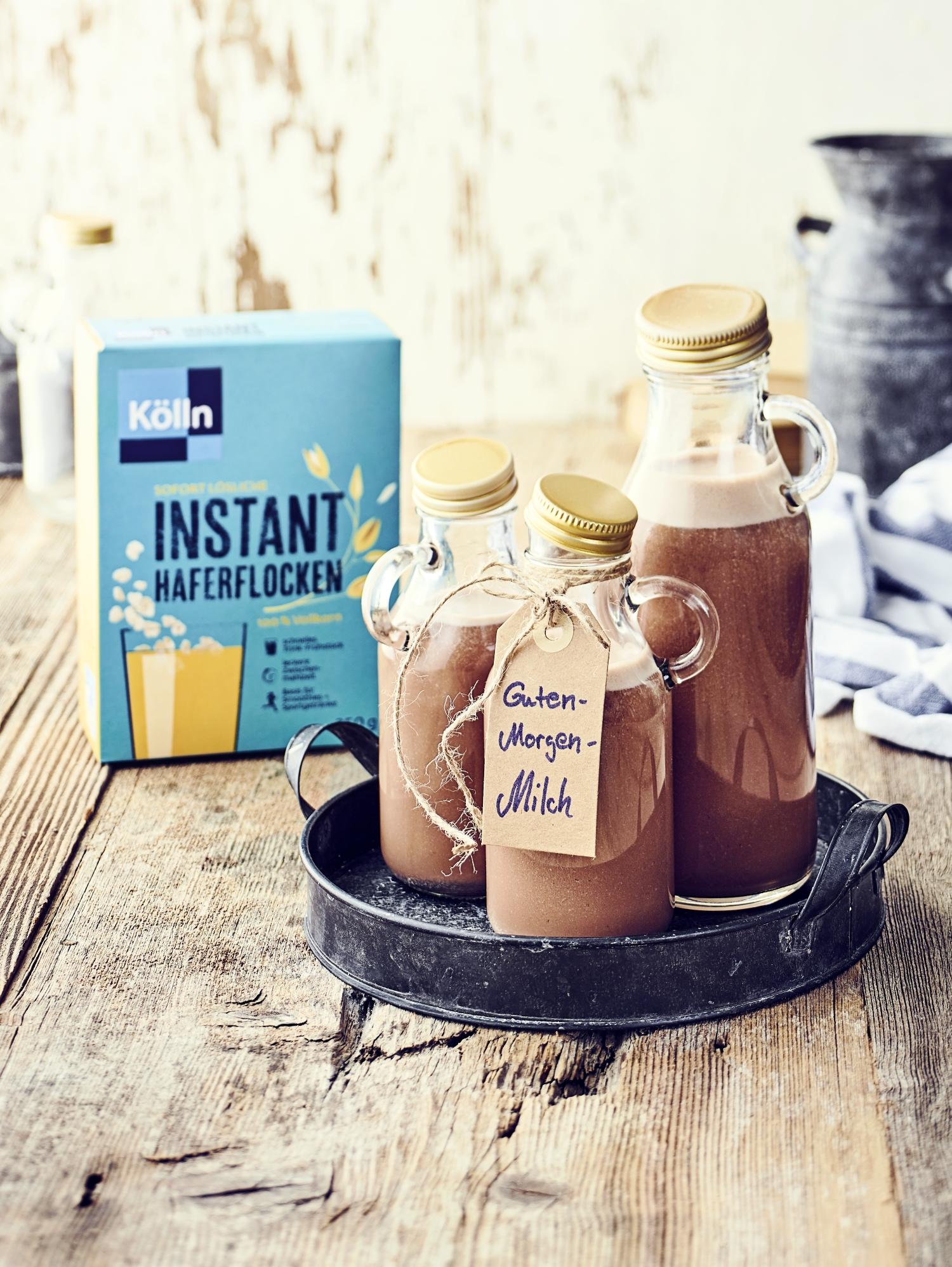 Guten-Morgen-Milch Rezept